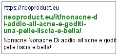 https://neoproduct.eu/it/nonacne-di-addio-all-acne-e-goditi-una-pelle-liscia-e-bella/